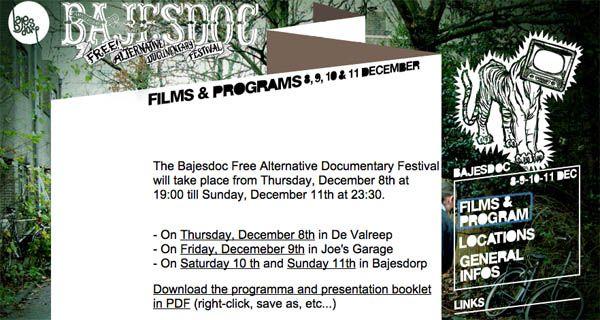 Sirimiri 3.0 en el Bajesdoc. The Free Documentary Festival de Amsterdam