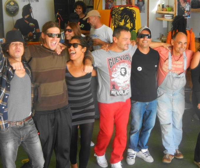 Despedida de nuestros amigos en Lanzarote