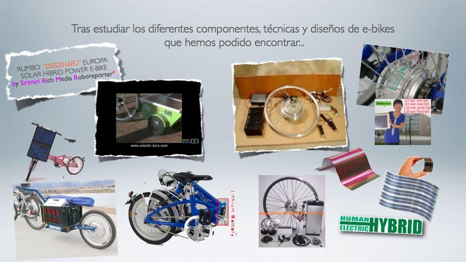 Sistemas para bicicletas eléctricas