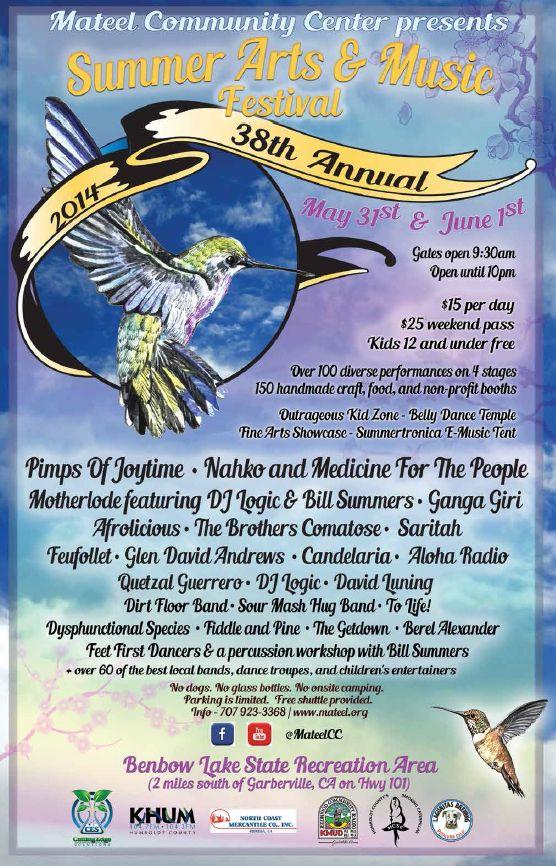 Summer Music & Arts Festival. Para familias HippyFelices.