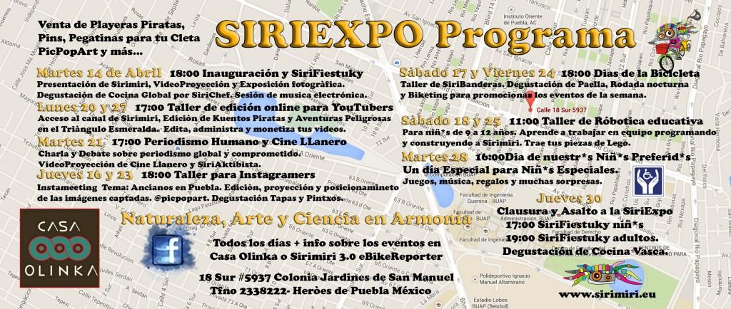 Exposición multimedia y talleres en Puebla