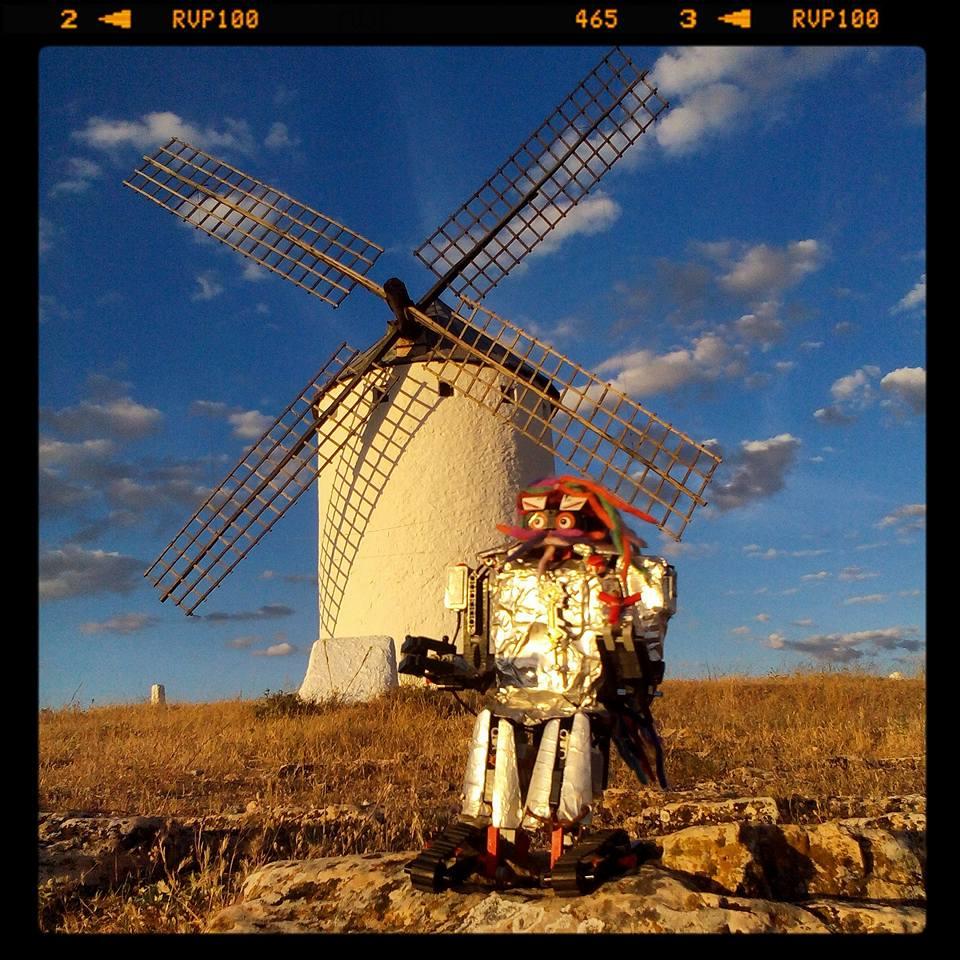 Sirimiri Caballero Andante Por La Ruta De Don Quijote.